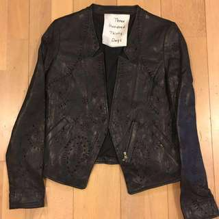 Nearly new Japan brand  real leather jacket
