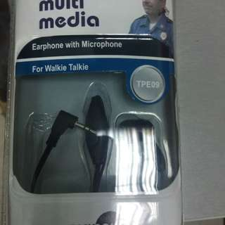Walkie Talkie Earpieces
