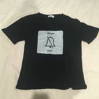 Black Silent T-Shirt