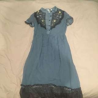 Diane Von Furstenburg Chiffon Dress