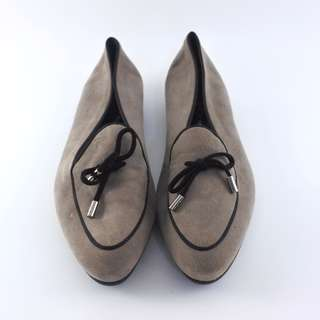 Tod's Flat Size Suede Leather Size 36