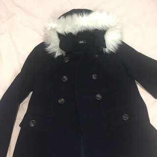 Dotti Navy Blue Coat