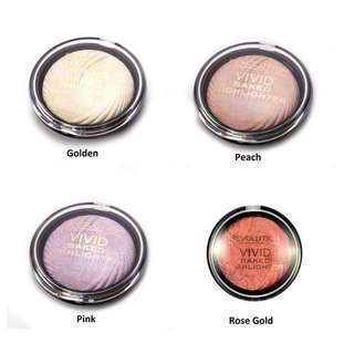 Makeup Revolution Vivid Baked Highlighters