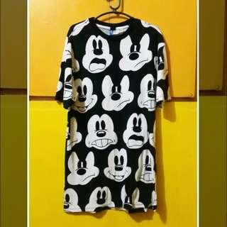 H&M Mickey shirt (xs size)
