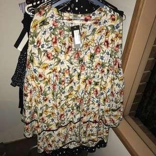 New boho floral dress
