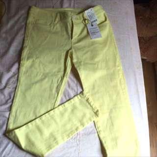 🚚 [全新]Lativ color 丹寧窄管褲26#兩百元丹寧