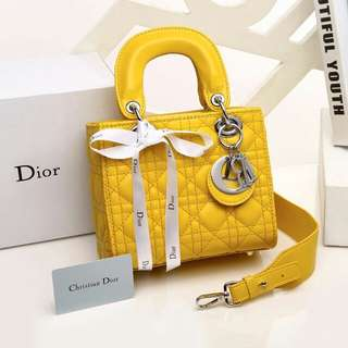 DIOR LADY WITH BOX