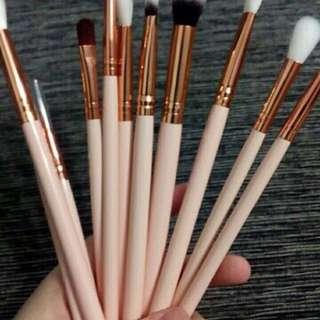 12pc eye makeup brush set