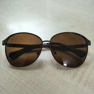 Brown Tint Sunglasses - Oversized