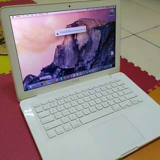Laptop white
