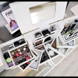 Make up closet! Lipstick wardrobe!