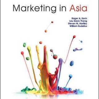 MKT1003 Textbook Marketing in Asia