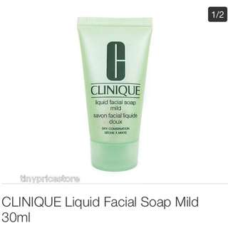 clinique mini facial soap