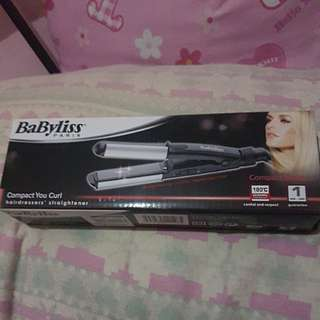 BaByliss Hair Straightener/Curler