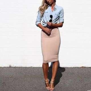 Kookai Beige Skirt w/ Postage included