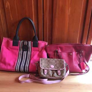Authentic Coach and Tory Burch Bags (all in)