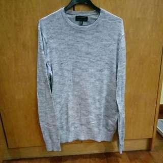 Banana republic grey long sleeve shirt