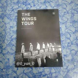 [WTS Fast] BTS 2017 Wings Tour in Seoul DVD-Photobook