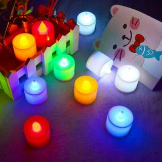 MINI LILIN LED LAMP ELECTRIC CHRISTMAS VALENTINE | LAMPU ELEKTRIK