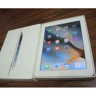 【出售】Apple iPad 4 Retina 64GB 平板電腦 公司貨 盒裝完整