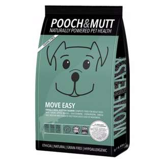 POOCH & MUTT MOVE EASY SALMON ADULT DRY DOG FOOD 40% OFF!!