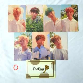 [LIMITED] BTS O Ver. Love Yourself photocard, Poster