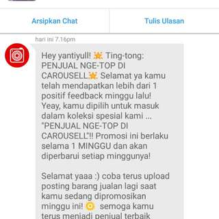 Thank you Carousell 😘😘😘😍😍
