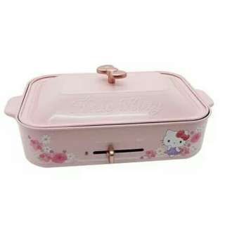 Brand New In Box Hello Kitty Electric Hotplate Set
