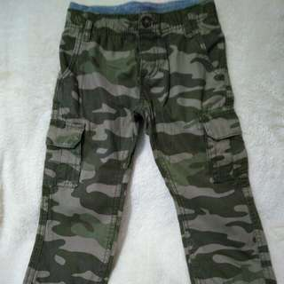 Carter's Army pants for boys