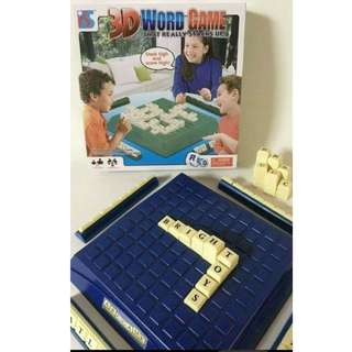 3D Word Game