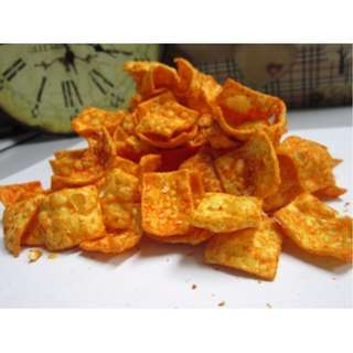 1KG Curry Tapioca Cracker Snacks Tidbits