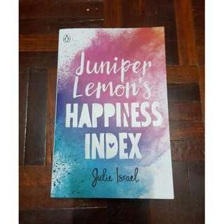 Juniper Lemon's Happiness Index by Julie Israel