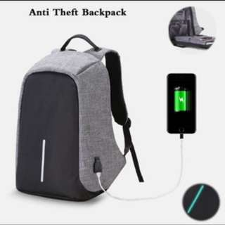 (INSTOCKS) Anti Theft Laptop Backpack With Charger! #1212YES