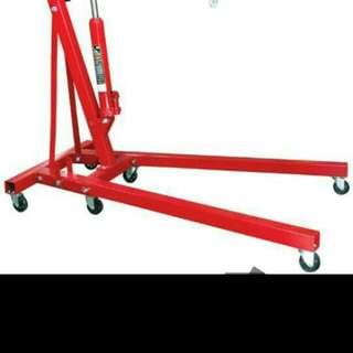 Hydraulic Engine Lifting Crane 2Ton