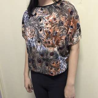 Abstract print - top