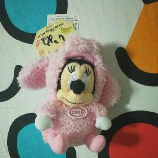 Minnie Keychain Plush