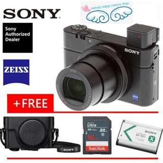 SONY RX100 MARK IV / SONY RX100 MARK 4 (ORIGINAL & OFFICIAL SONY)