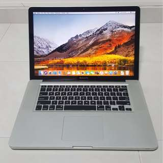 (Price Lowered!) MacBook Pro 15 Inch, Late 2011