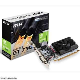 🚚 MSI 微星 Nvidia GT730 顯示卡