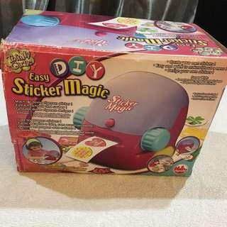 DIY Sticker Magic Maker