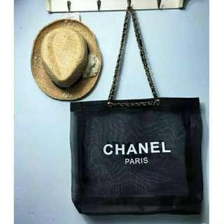 Chanel Parfum Transparent Tote