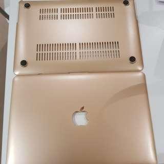 FREE Macbook Air 13inch Gold Case