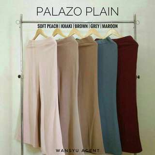 Palazo Plain Murah