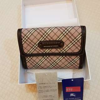 Rarely used Burberry Blue label wallet