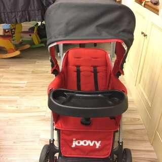 Joovy雙寶專用嬰兒車
