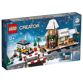 Lego 10259 Winter Village Station 冬季火車站