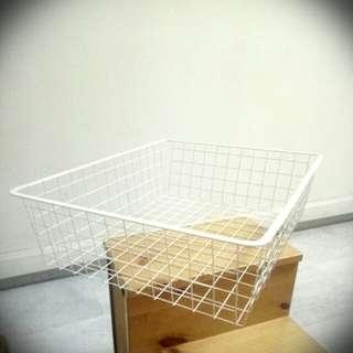 Ikea basket/shelves