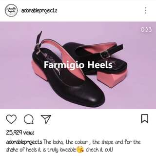 Farmigio Heels Adorable Projects