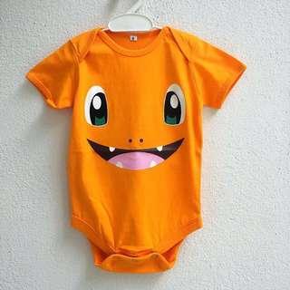 Pokemon GO Baby Cotton Rompers