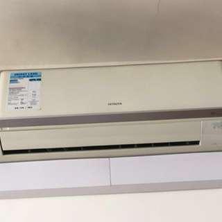 日立一匹冷暖分體機 Hitachi warm and cold split air conditioning